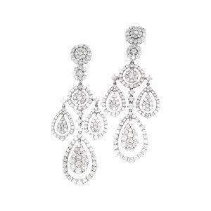 Diana M. Fine Jewelry 18K 7.82 ct. tw. Diamond Chandelier Earrings   - Size: NoSize