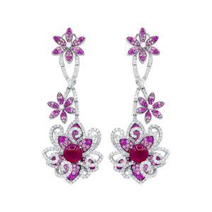 Diana M. Fine Jewelry 18K White Gold 5.57 ct. tw. Diamond Earrings   - Size: NoSize