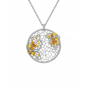 Diana M. Fine Jewelry 18K 5.59 ct. tw. Diamond Necklace   - Size: NoSize
