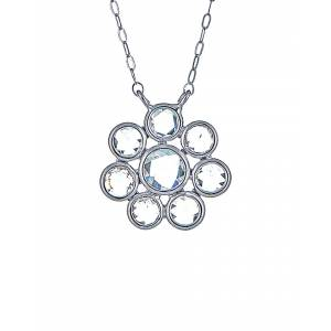 Forever Creations USA Inc. Forever Creations 18K 1.00 ct. tw. Diamond Necklace   - Size: NoSize