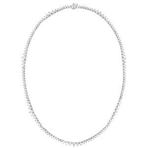 Diana M. Fine Jewelry 18K 7.30 ct. tw. Diamond Necklace   - Size: NoSize
