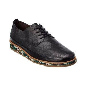 FLY London Jope Leather Sneaker  -Black - Size: 40