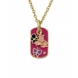 """Little Miss Twin Stars LMTS Identity Crisis 14K Plated Necklace   - Size: 14"""" + 2"""""""