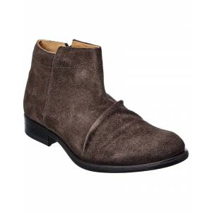FLY London Mobe Suede Boot  -Grey - Size: 44