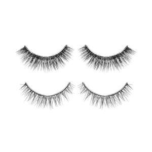 Glamour Status Black 2 Sets of Lovely Lashes   - Size: NoSize