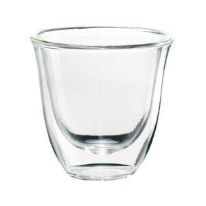 DeLonghi Set of 6 Double Wall Espresso Glasses   - Size: NoSize