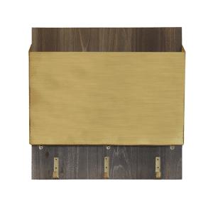 1THRIVE Brushed Gold File Holder