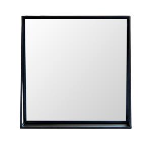 1THRIVE Medium Black Mirror w/ Shelf