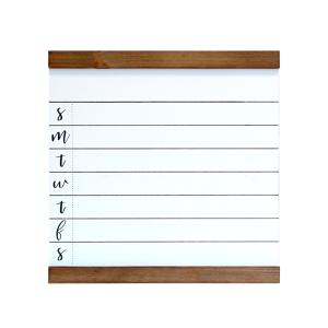 1THRIVE Medium White Weekly 1WRITE Board