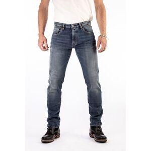ROKKER Rokkertech Tapered Slim Blue Motorcycle Jeans L36/W34