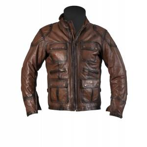 Helstons Hunt Leather 2 Tone Brown L