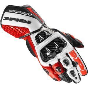 Spidi Carbo Track Evo Black Red White  XL