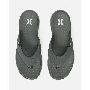 Canada Men's Men's Flex 2.0 Sandal in Dk Grey/white - Anthracite, Size 10
