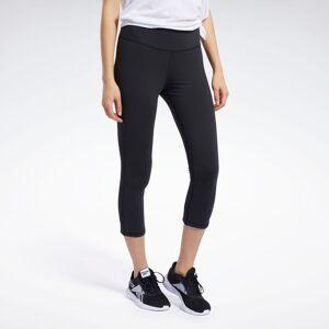 Reebok Women's Lux 3/4 Length 2 Leggings in Black Size M - Training Apparel