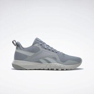 Reebok Men's Flexagon Force 3 Training Shoes in Pure Grey 4/Pure Grey 2/Orange Flare Size 10 - Cross Training,Training Shoes