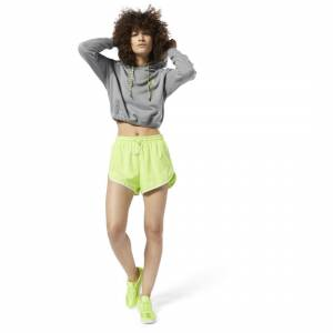 Reebok Women's Classics Shorts in Neon Lime Size XS - Lifestyle Apparel