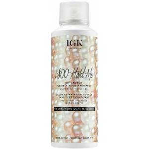 IGK 1-800-HOLD ME - No-Crunch Flexible Hold Hairspray