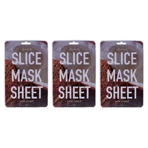 KOCOSTAR Slice Sheet Mask - Coconut - 6ct
