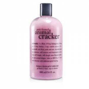 Philosophy Pink Frosted Animal Cracker Shampoo, Shower Gel & Bubble Bath