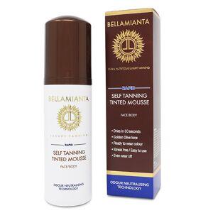 BELLAMIANTA Rapid Self-tanning Tinted Lotion