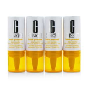 Clinique Fresh Pressed Daily Booster with Pure Vitamin C 10% 4 Pack