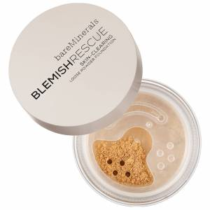 bareMinerals Blemish Rescue Skin-Clearing Loose Powder Foundation - For Acne Prone Skin - Fairly Light 1NW