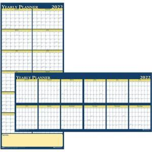 House of Doolittle Wholesale Laminated Wall Planners: Discounts on House of Doolittle Laminated Yearly Wall Planner HOD3974