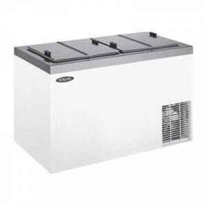 """Norlake """"Norlake FF044WVS/0 32"""""""" Stand Alone Ice Cream Dipping Cabinet w/ 4 Can Capacity - White, 115v"""""""