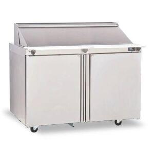 "Delfield ""Delfield 4460NP-18M 60"""" Sandwich/Salad Prep Table w/ Refrigerated Base, 115v"""