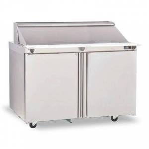 "Delfield ""Delfield 4460NP-24M 60"""" Sandwich/Salad Prep Table w/ Refrigerated Base, 115v"""