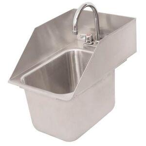 "Splash ""Splash DIS-GF-SS-10-14-10 (1) Compartment Drop-in Sink - 10"""" x 14"""", Drain Included"""
