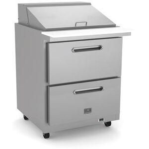 "Kelvinator Commercial ""Kelvinator Commercial KCHMT29.12.2D (738286) 29"""" Sandwich/Salad Prep Table w/ Refrigerated Base, 115v"""