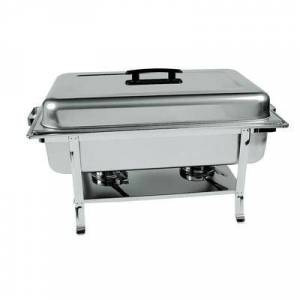 Update CC-5P Full Size Chafer w/ Lift-off Lid & Chafing Fuel Heat
