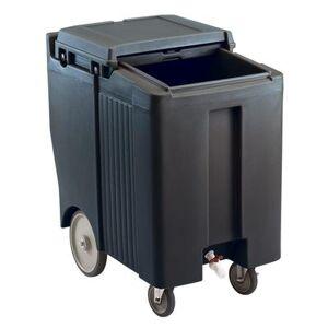 Cambro ICS175TB110 175 lb Insulated Mobile Ice Caddy - Plastic, Black