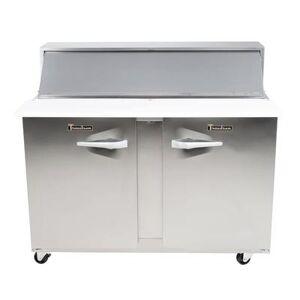 "Traulsen ""Traulsen UPT7212-RR 72"""" Sandwich/ Salad Prep Table w/ Refrigerated Base, 115v"""