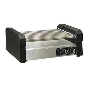 Gold Medal 8551-00-000 36 Hot Dog Roller Grill w/ Slanted or Flat Top, 120v