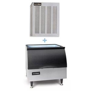 Ice-O-Matic GEM0956A/B25PP 1053 lb Nugget Ice Maker w/ Bin - 242 lb Storage, Air Cooled, 208-230v/1ph