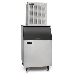 Ice-O-Matic MFI1256A/B55PS 1149 lb Flake Ice Maker w/ Bin - 510 lb Storage, Air Cooled, 208-230v/1ph
