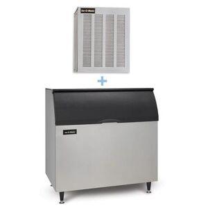 Ice-O-Matic MFI0800A/B110PS 900 lb Flake Ice Maker w/ Bin - 854 lb Storage, Air Cooled, 115v