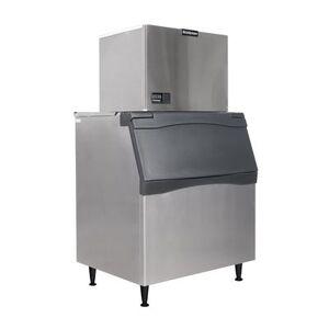Scotsman C0630SW-32/B842S 633 lb Half Cube Ice Maker w/ Bin - 778 lb Storage, Water Cooled, 208-230v/1ph