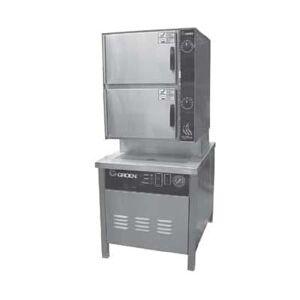 Groen HY-10SG-36 (10) Pan Convection Steamer - Cabinet, Liquid Propane