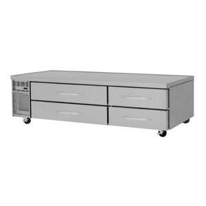 """Turbo Air """"Turbo Air PRCBE-96F-N 96"""""""" Chef Base Freezer w/ (4) Drawers - 115v"""""""