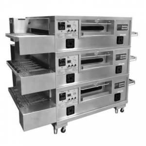 "Marshall ""Middleby Marshall PS555G-3 55"""" Gas Triple Impingement Conveyor Oven - Liquid Propane"""