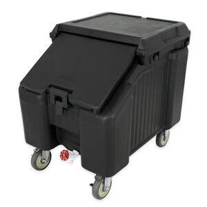 Cambro ICS100L110 100 lb Insulated Mobile Ice Caddy - Plastic, Black