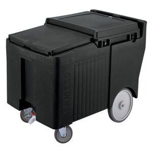Cambro ICS175LB110 175 lb Insulated Mobile Ice Caddy - Plastic, Black
