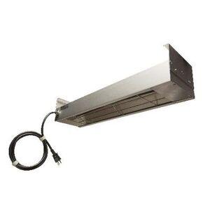 """Nemco """"Nemco 6150-36-CP 36"""""""" Infrared Strip Warmer - Single Rod, (1) Built In Toggle Control, 120v"""""""