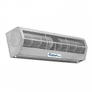 "Curtron ""Curtron AP-4-72-2-SS 72"""" Unheated Air Curtain - (2) Speed, Stainless, 120v"""
