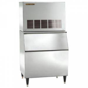 Kold-Draft GT561AC/KDB400 525 lb. Large Cube Ice Maker with Bin - 400 lb. Storage, Air Cooled, 115v