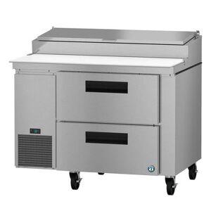 "Hoshizaki ""Hoshizaki PR46A-D2 SteelHeart 46"""" Pizza Prep Table w/ Refrigerated Base, 115v"""