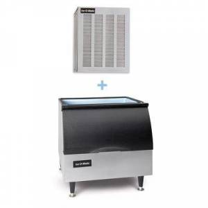 Ice-O-Matic MFI1256A/B25PP 1149 lb Flake Ice Maker w/ Bin - 242 lb Storage, Air Cooled, 208-230v/1ph